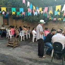 O ARRAIÁ DA 3ª IDADE NO CRAS TEVE BOM SÔ