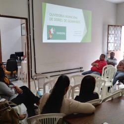 A Ouvidora Municipal de Dores de Guanhães promoveu, na última semana, reuniões com servidores da Administração para apresentar o novo canal de comunicação que liga a sociedade à Administração Pública