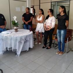 NOVAS CONSELHEIRAS TUTELARES TOMAM POSSE NA PREFEITURA MUNICIPAL.