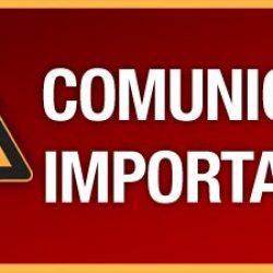 COMUNICADO IMPORTANTE MITRA DIOCESANA DE GUANHÃES