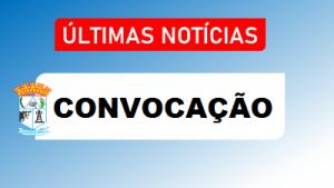 CONVOCAÇÃO DO CANDIDATO APROVADO NO PROCESSO SELETIVO SIMPLIFICADO Nº14/2.020