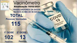 Vacinômetro 16-02-2021