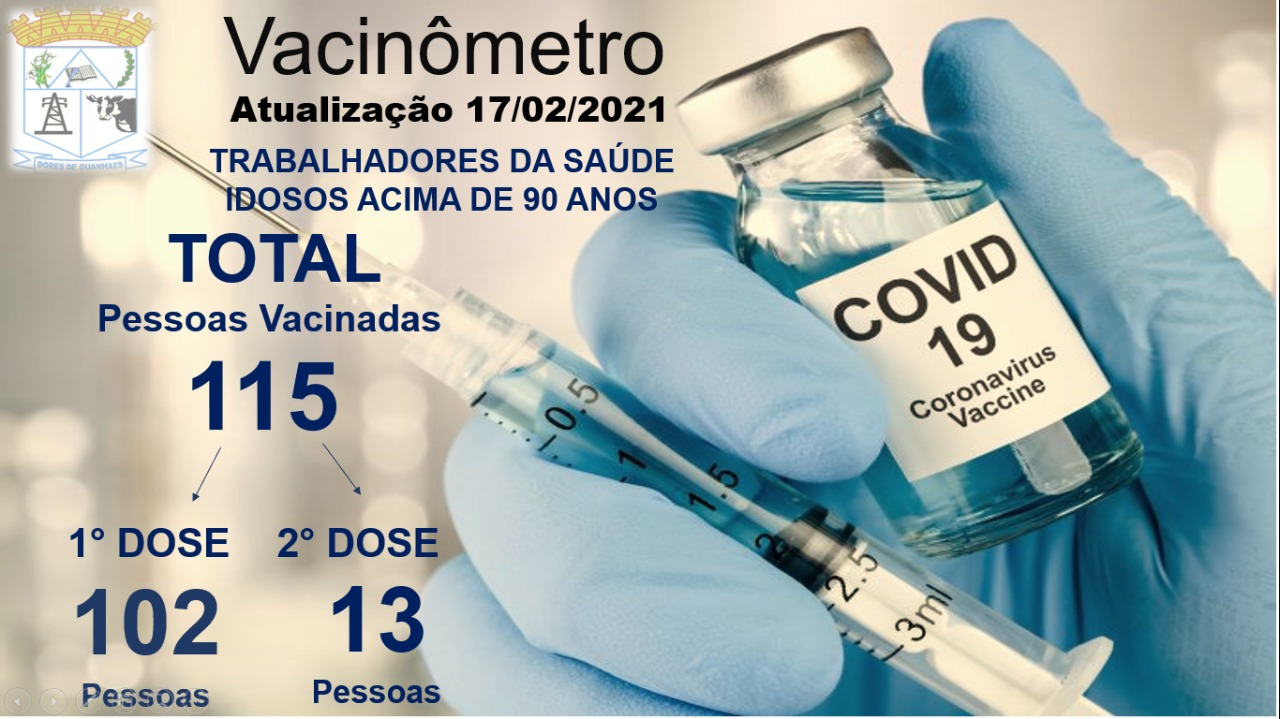Vacinômetro 17-02-2021